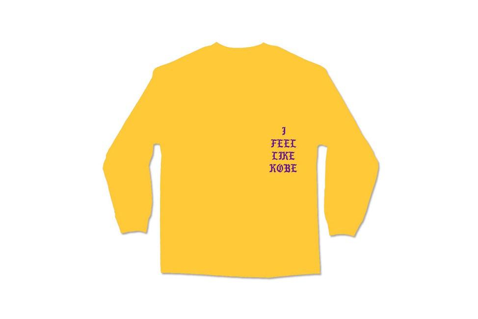 Kanye West rend hommage à Kobe Bryant avec le t-shirt «I Feel Like Kobe»