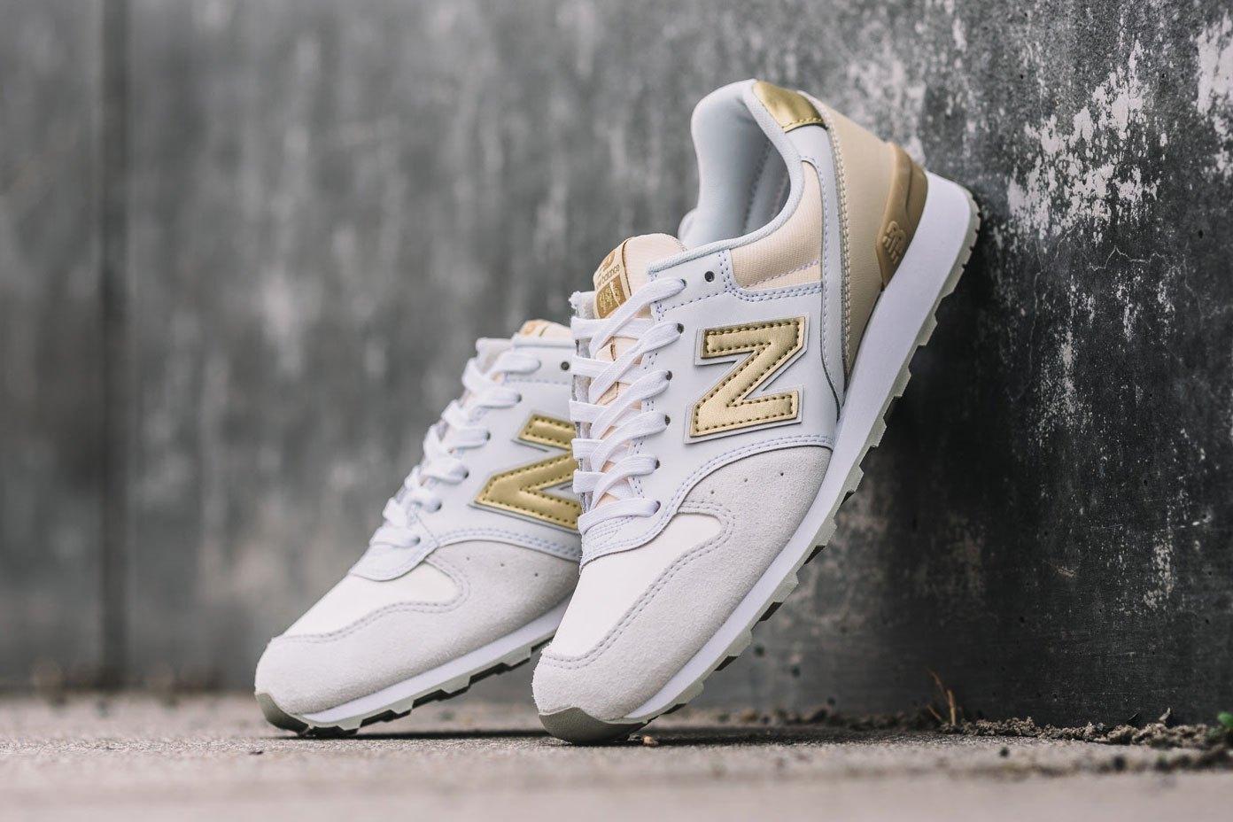 De nouvelles New Balance 996 dorées