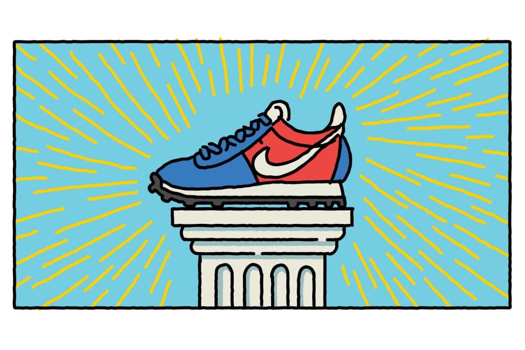 Nike raconte l'histoire de sa technologie Flyknit en illustrations
