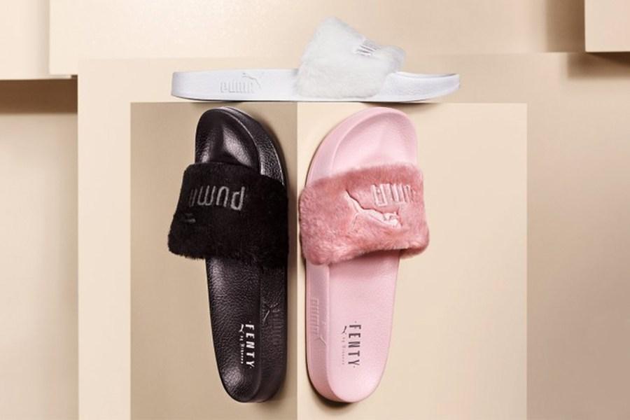 Des Puma Fur Slides de Rihanna vendues sur Ebay au prix de 1000$