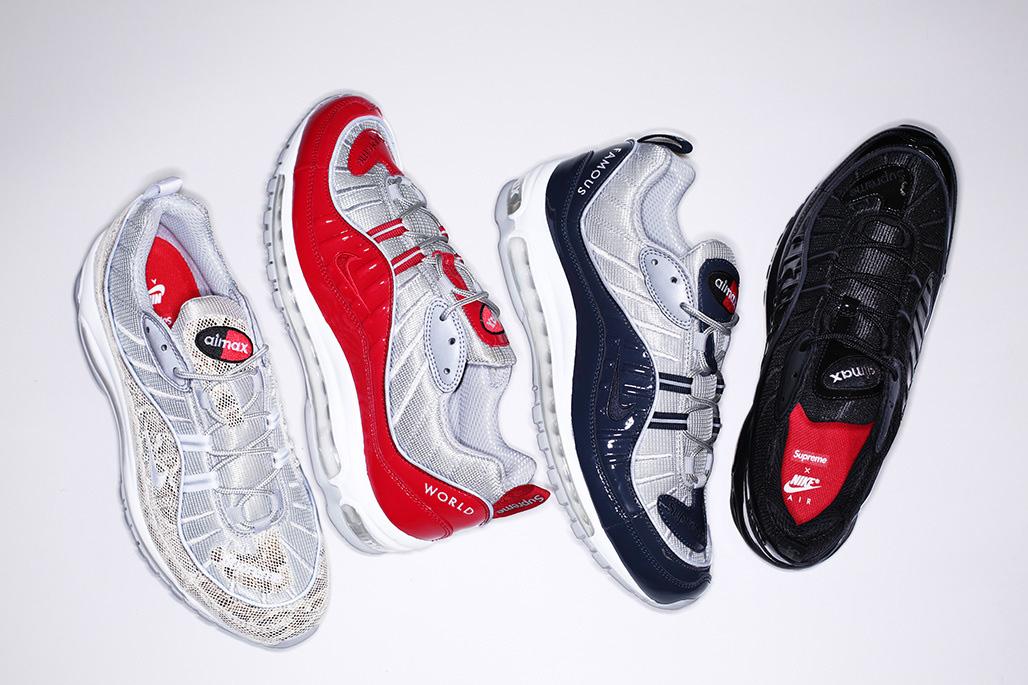 Les Supreme x Nike Air max 98 ne sortiront que dans les shops de Tokyo !