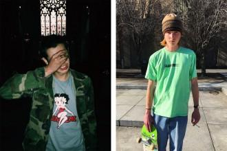 Supreme tease deux nouveaux t-shirts de sa collection printemps / été