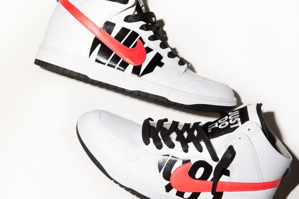 NikeLab x Undefeated : découvrez la Dunk High «Lux»