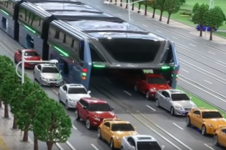 Le nouveau transport en commun TEB de Chine