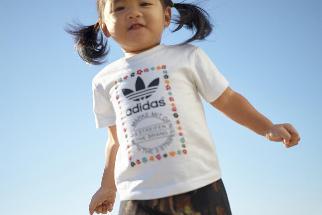 Adidas x Pharell Williams : Les petits et les grands