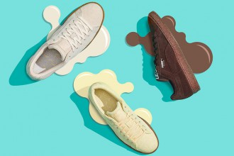 "La collection ""Ice Cream"" de la marque PUMA."
