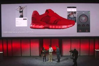 La sneakers intelligente de Lenovo