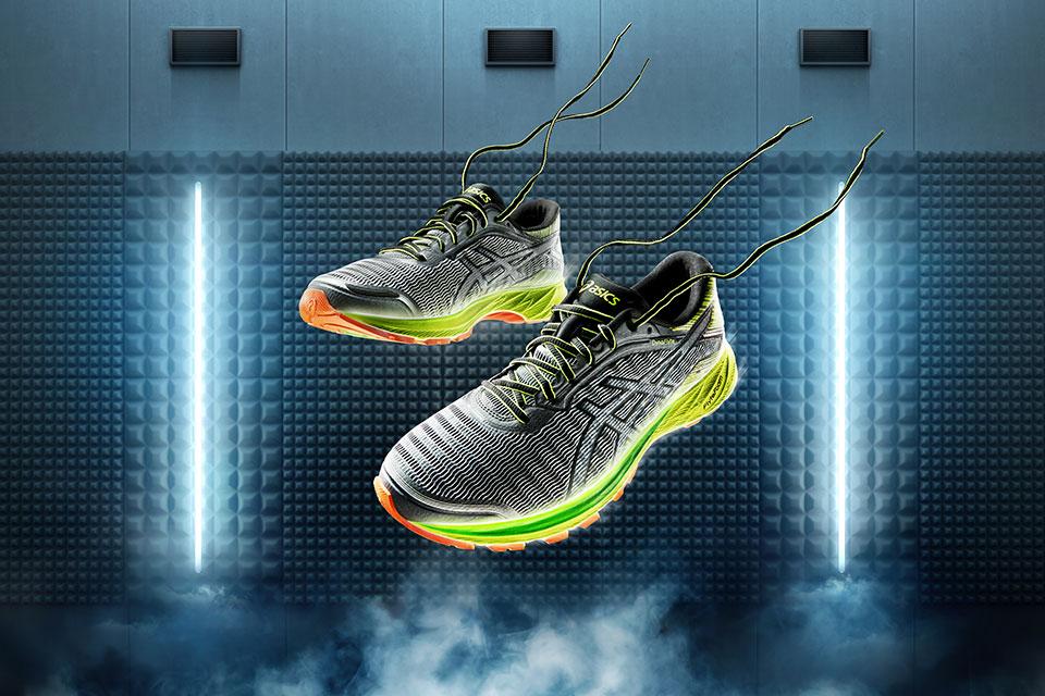 Asics dévoile la sneakers la plus légère, la DynaFlyte