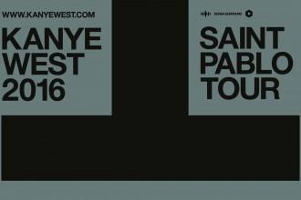 Kanye West a annoncé les dates de The Saint Pablo Tour