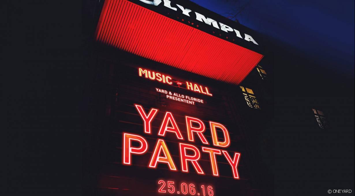 Concours : Gagnez vos places pour la soirée Yard à l'Olympia