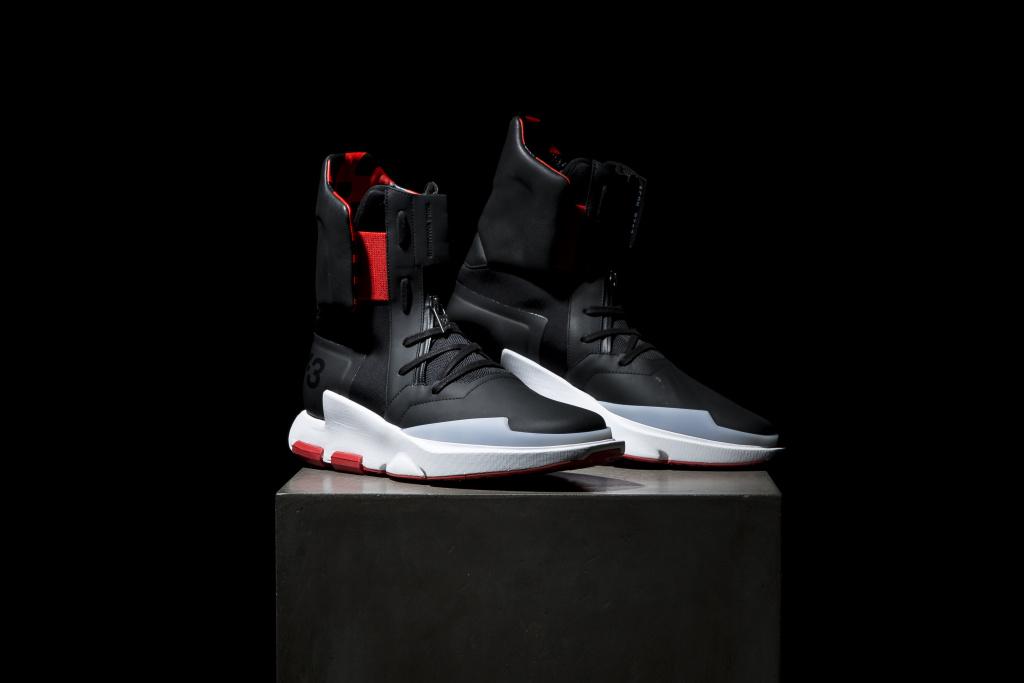 Zoom sur la spectaculaire sneaker Y-3 NOCI 0003