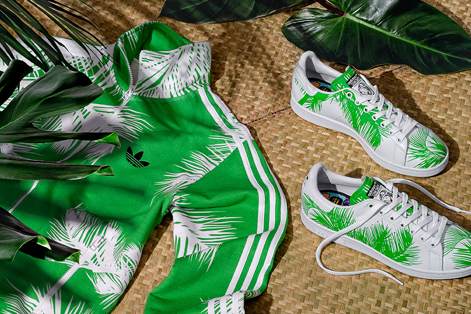 Nouvelle collection «Palm Tree» signée adidas Originals x Pharrell x BBC pack