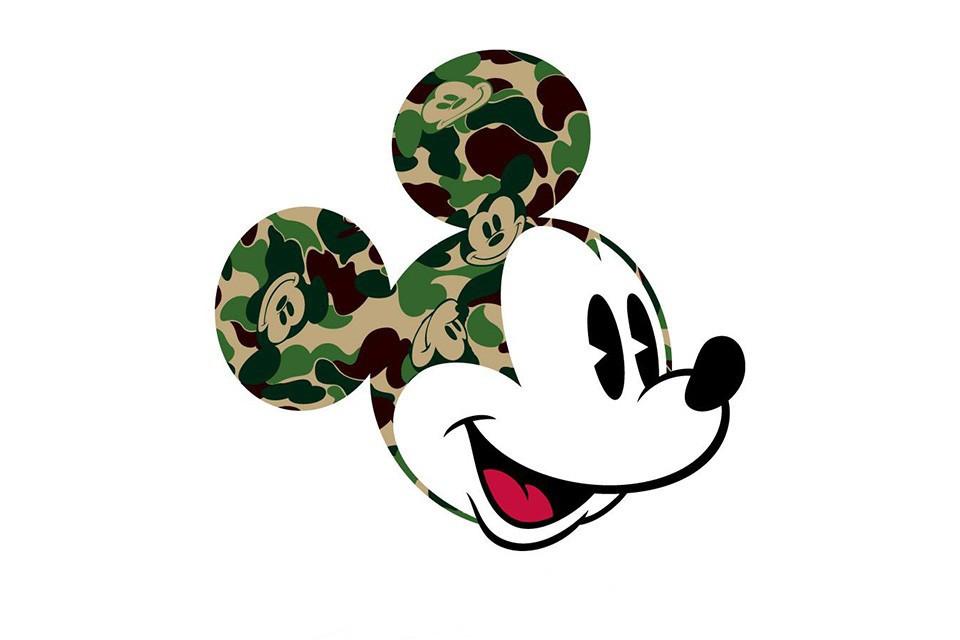 BAPE x Disney pour une nouvelle collection capsule MICKEY MOUSE