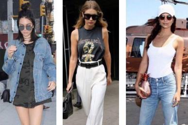 Mesdames, voici comment s'habiller comme Kendall, Gigi et Emily sans se ruiner