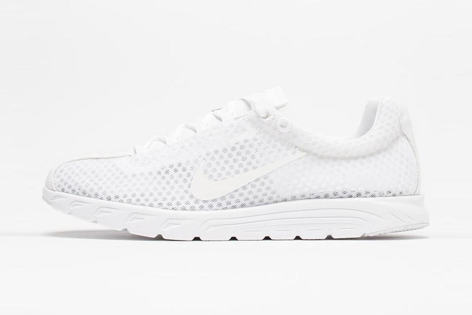 Toute blanche, la Nike Mayfly PRM est comme vous, prête pour cet été