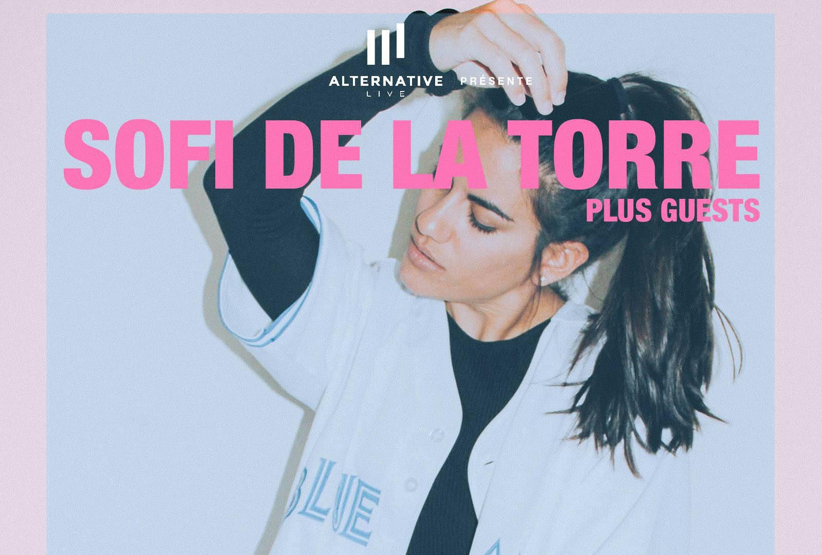 Gagnez vos places pour le concert de Sofi De La Torre