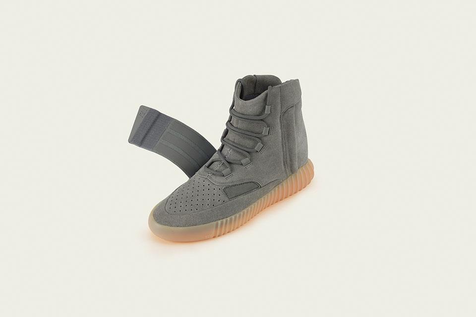 Adidas nous livre les détails de la Yeezy BOOST 750 «Grey/Gum»