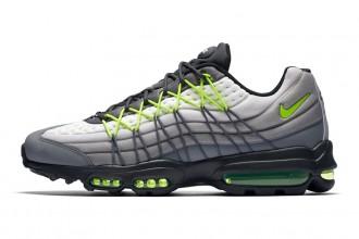 Nike modifie la silhouette de la Nike Air Max 95 Neon