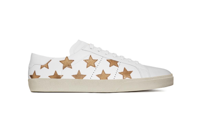 La California Sneaker Saint Laurent : un modèle étoilé