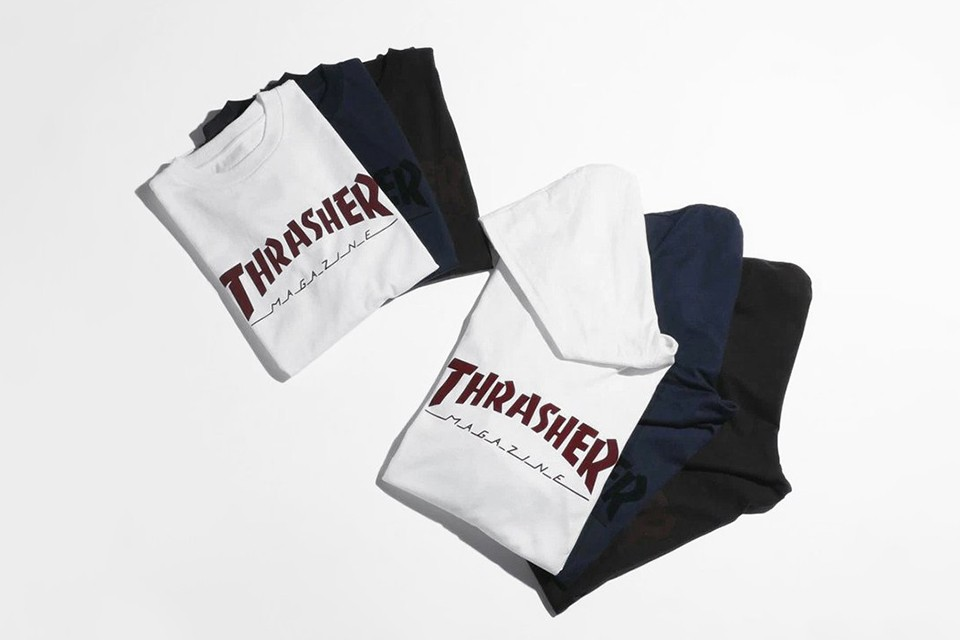 Thrasher collabore avec Beauty & Youth pour une nouvelle collection