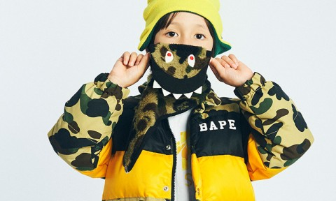 Voici la nouvelle collection AW16 pour enfant de BAPE