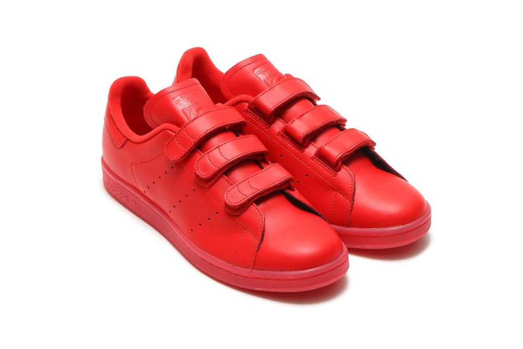adidas Stan Smith CF : red is the new white