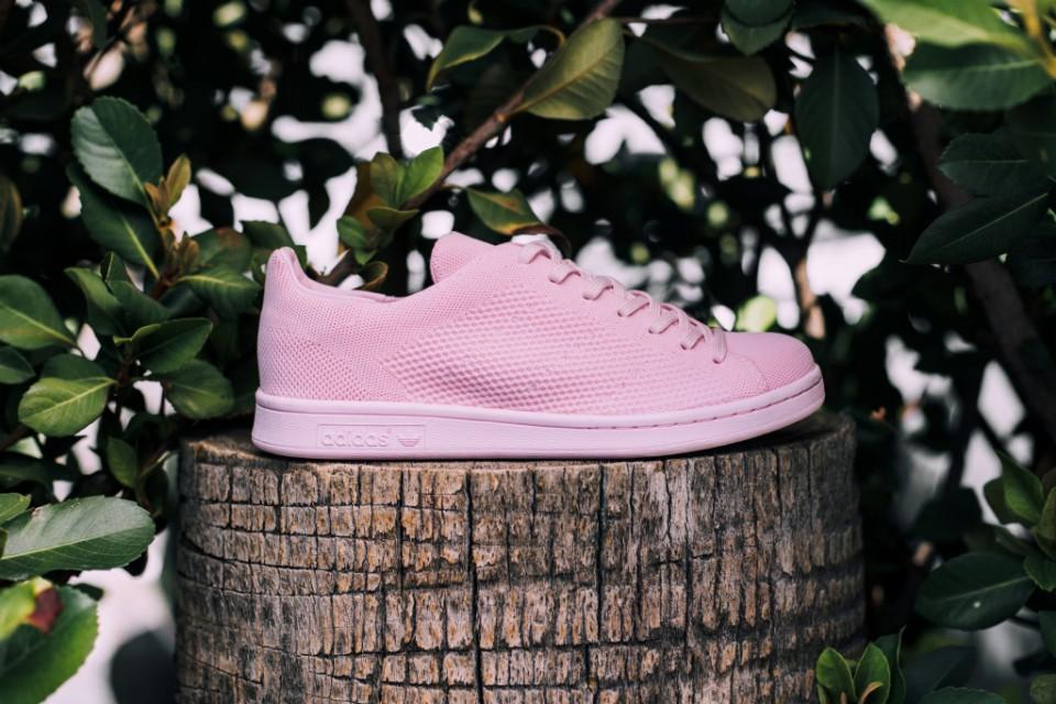 adidas présente une Stan Smith Primeknit toute rose pour les beaux jours