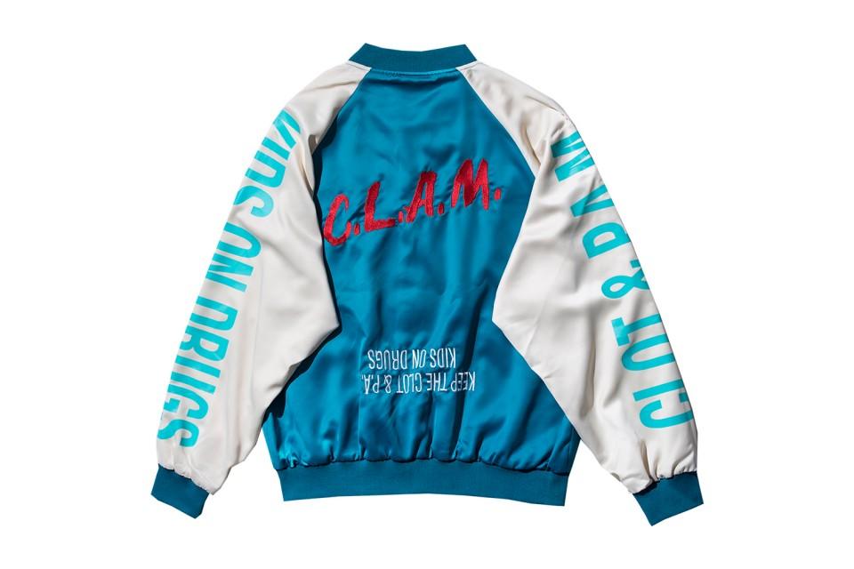 """CLOT x P.A.M. présentent leur collection capsule """"C.L.A.M. Kids On Drugs"""""""