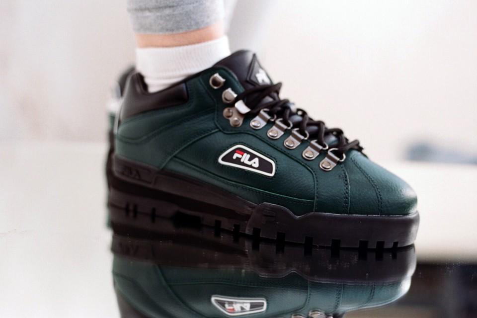 FILA plonge dans ses classiques pour une réédition de full sneakers