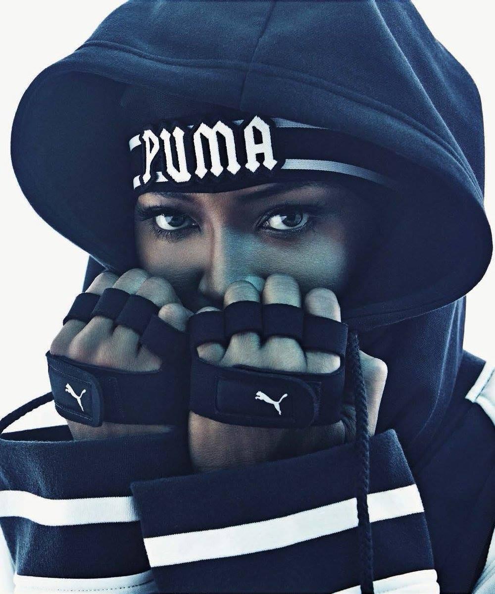 Naomie Campbell : égérie de FENTY Puma by Rihanna FW16