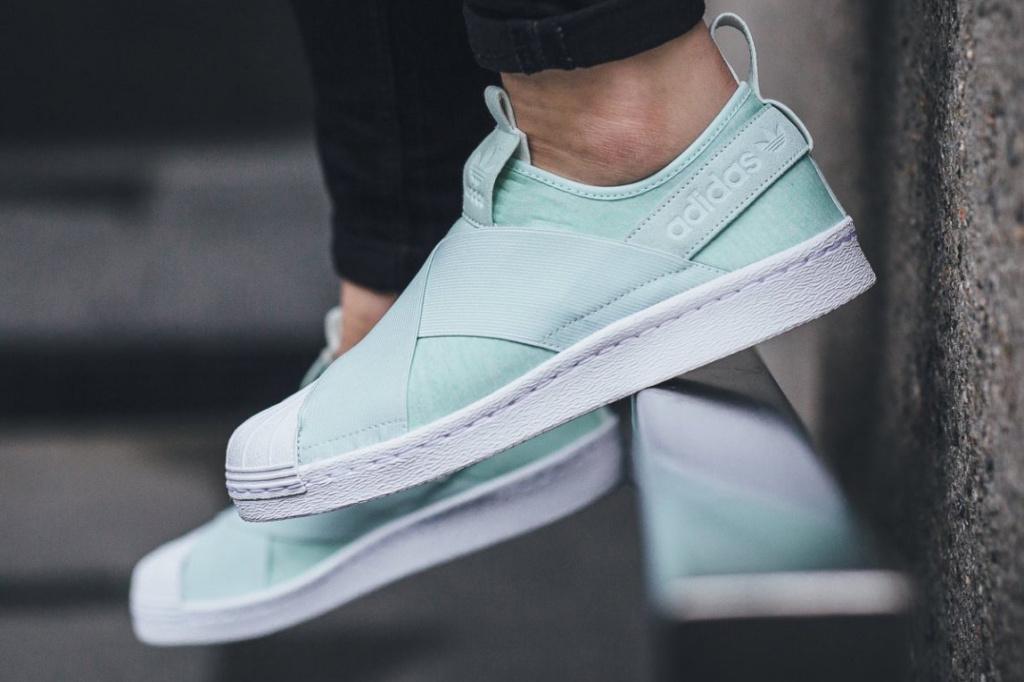 Adidas Originals enveloppe vos pieds de bonheur avec sa nouvelle Superstar Slip On