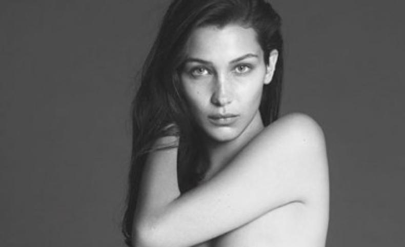 Bella Hadid topless pour Vogue Paris