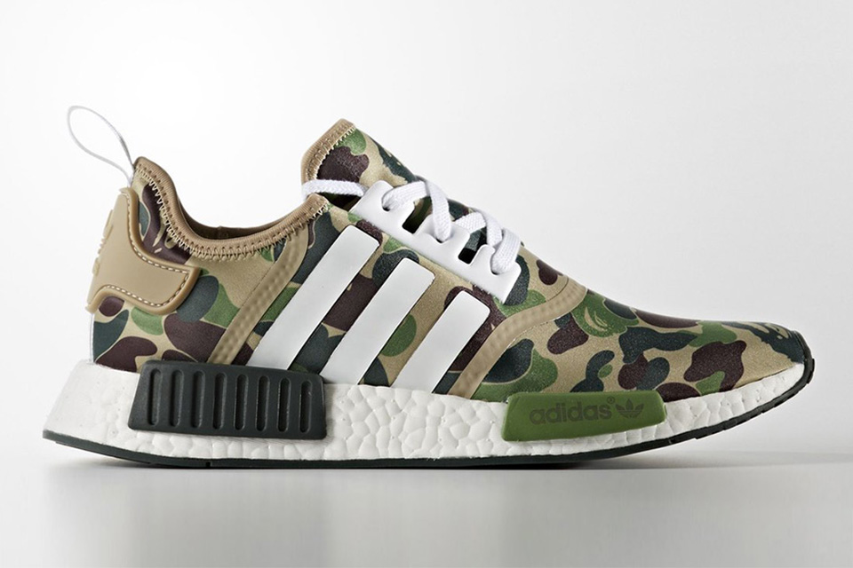 On en sait plus sur la Adidas NMD-R1 x BAPE