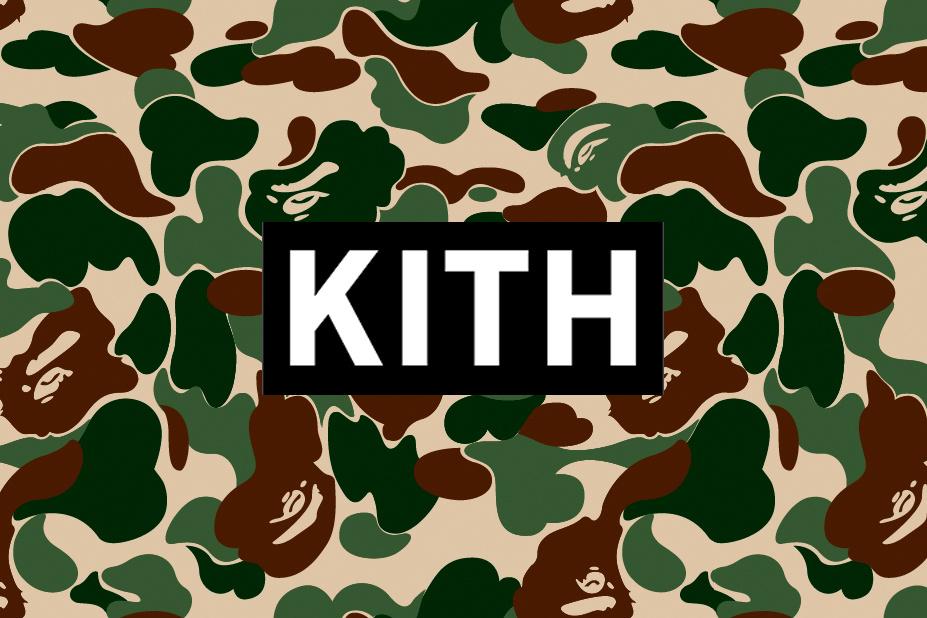 KITH annonce une collab' entre Ronnie Fieg et Bape