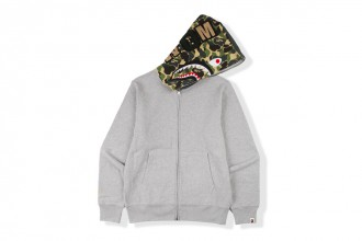 BAPE Flat Hat Club concep store shark hoodie