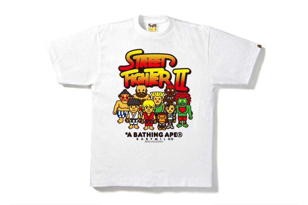 BAPE va sortir des t-shirts «Street Fighter»