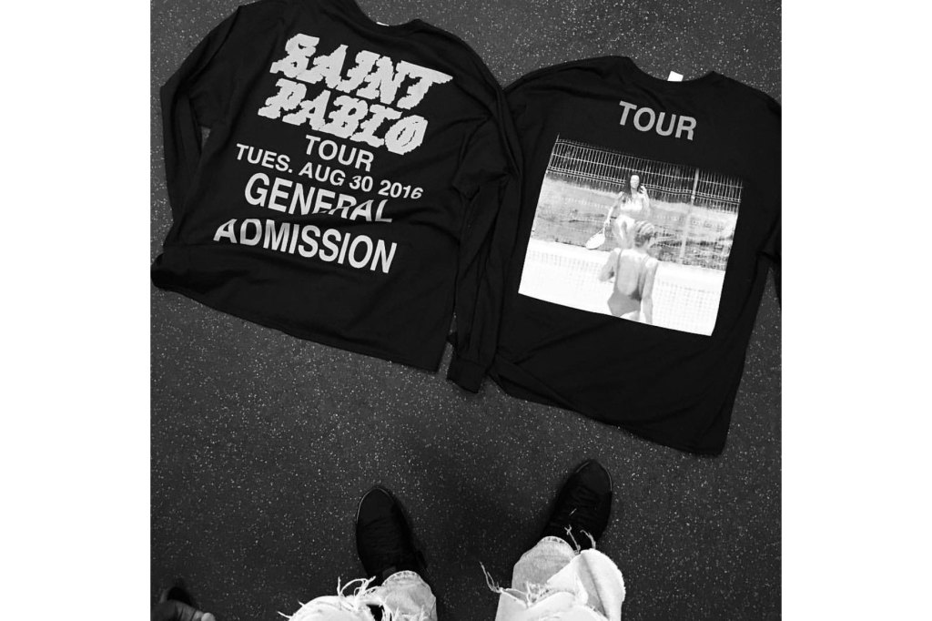 Kanye West dévoile de nouvelles pièces pour le merchandising du «Saint Pablo» Tour