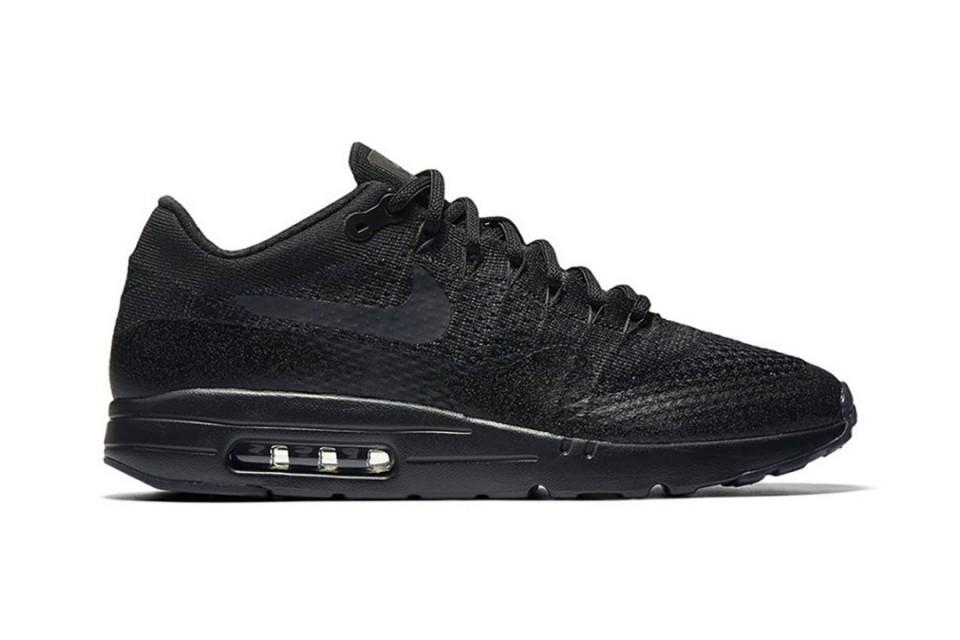 La Nike air max 1 ultra flyknit «triple black» sortira le mois prochain