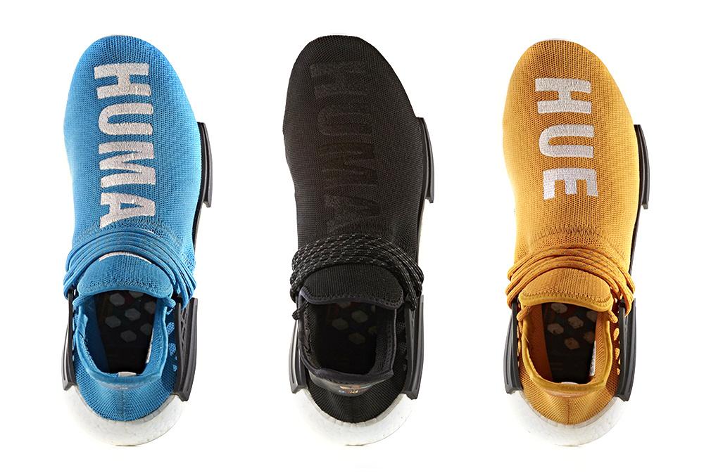 5 nouvelles paires pour la «Human Race» d'Adidas Originals by Pharrell