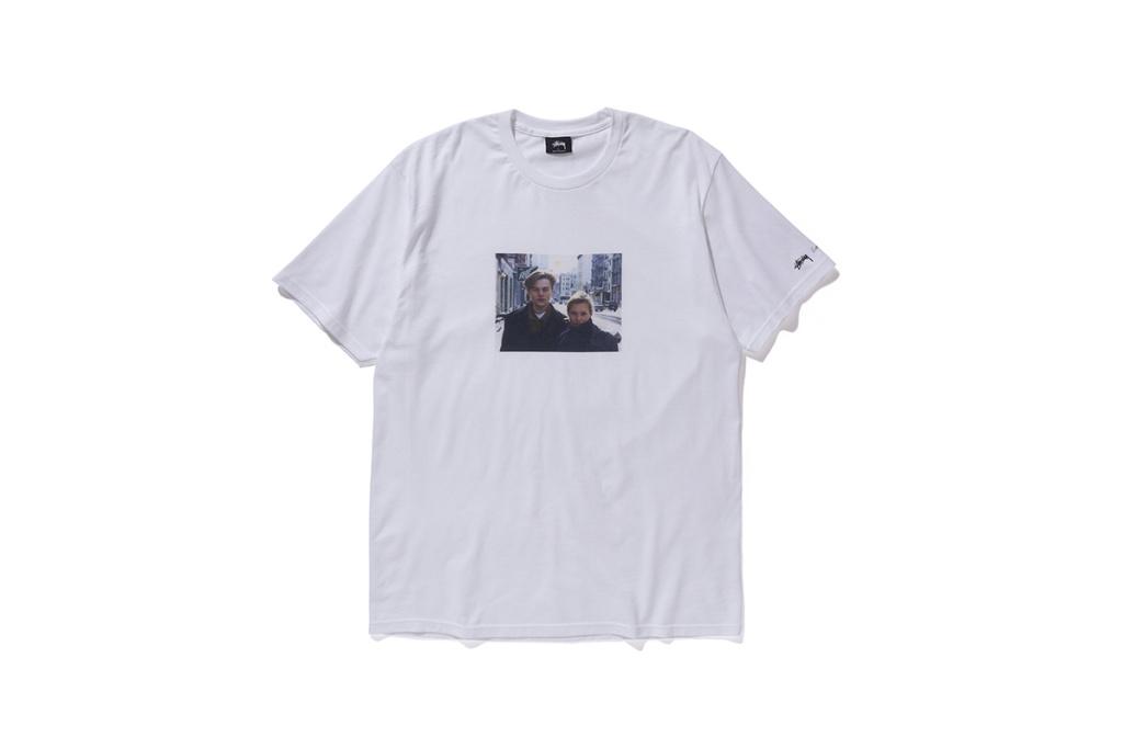 Stussy dévoile un nouveau t-shirt en feat avec DiCaprio & Kate Moss