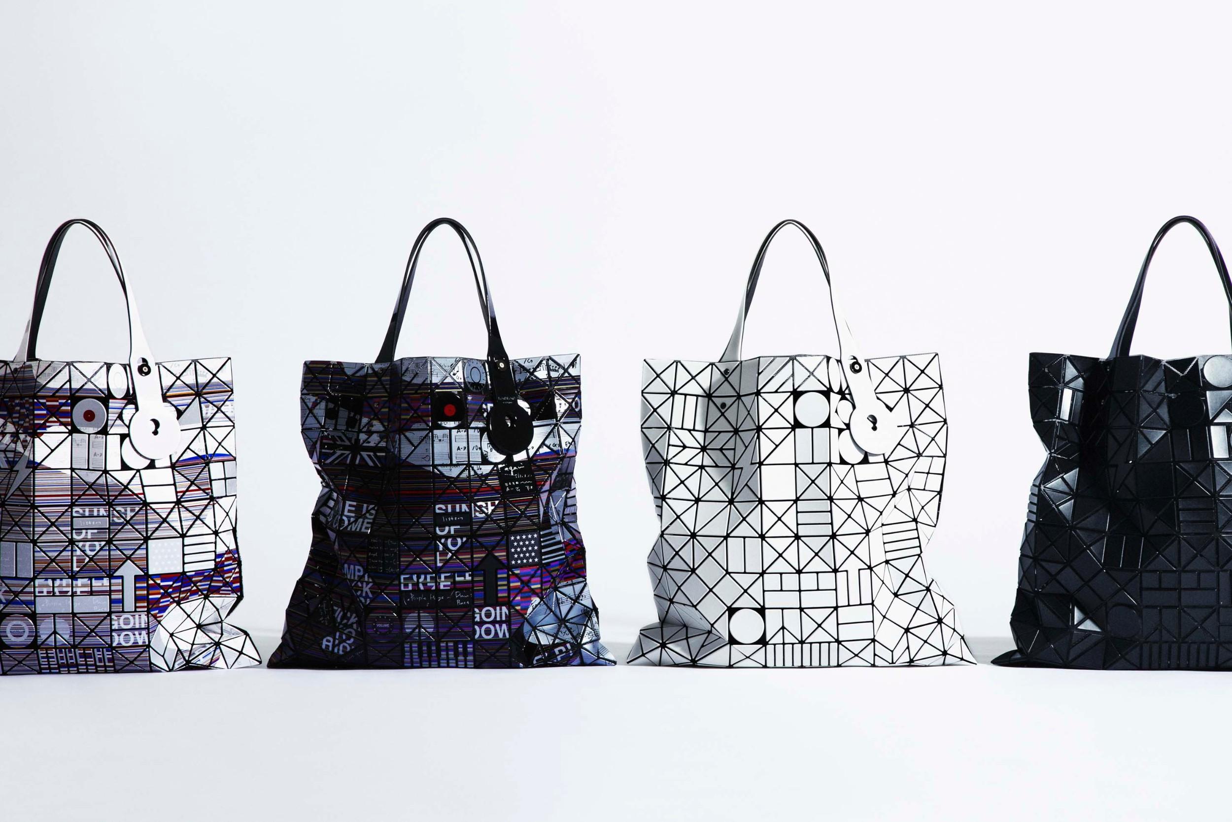 Issey Miyake dévoile une nouvelle série de sacs et pochettes «Chord»