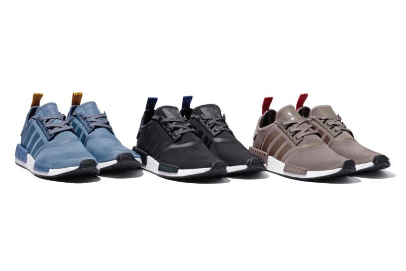 adidas x BEAMS dévoilent trois nouvelles NMD R1