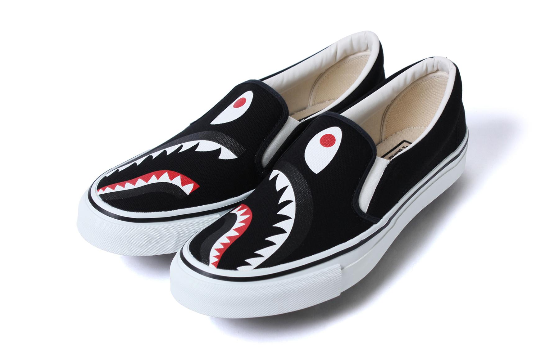 La nouvelle Bape Shark Slip On fait son apparition