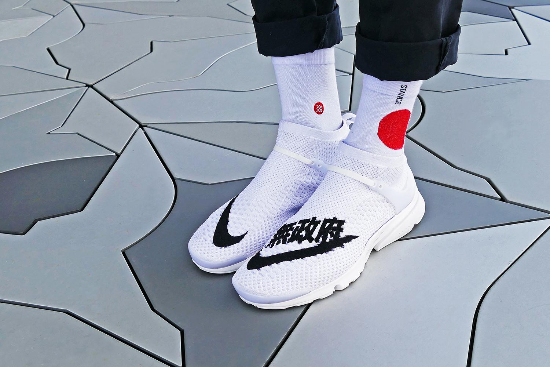Découvrez cette Nike Air Presto Flyknit «Uncaged Anarchy» customisée