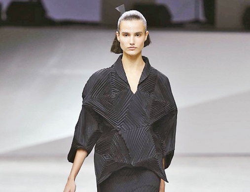 Issey Miyake SS17, l'origami japonais au service du style incontestable