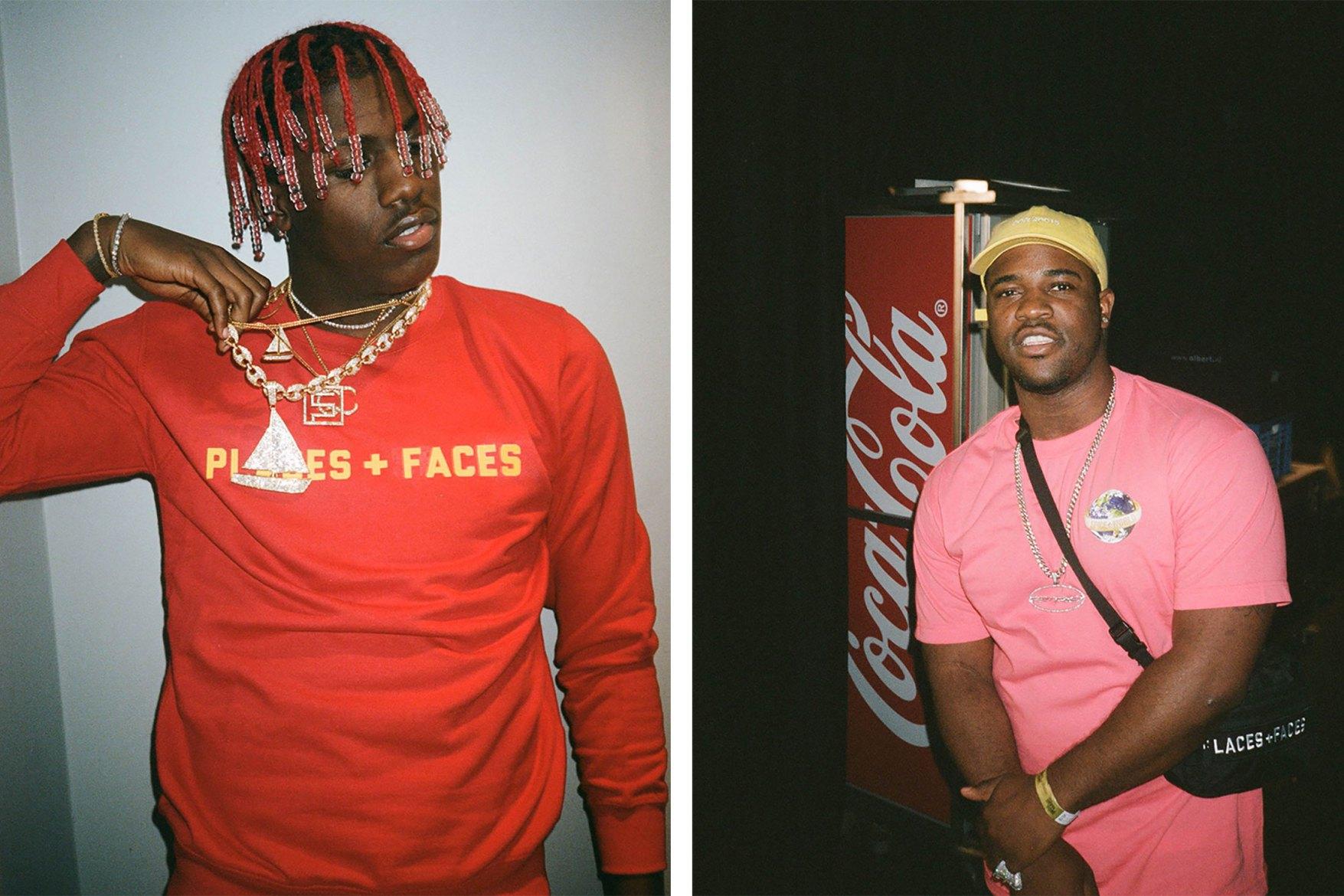 Lil Yatchy et A$AP Ferg introduisent la nouvelle collection Places+Faces