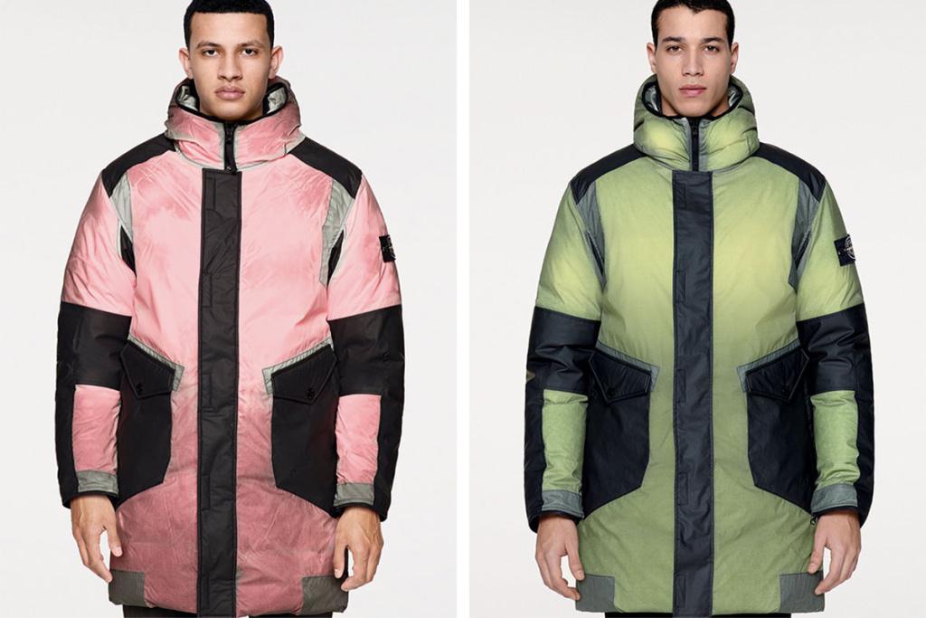 Ice Jacket : la veste caméléon signée Stone Island