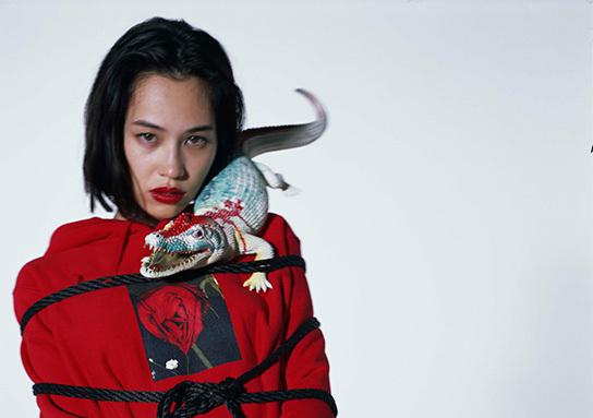 Araki pour Supreme, nouvelle collaboration entre bondage et tradition