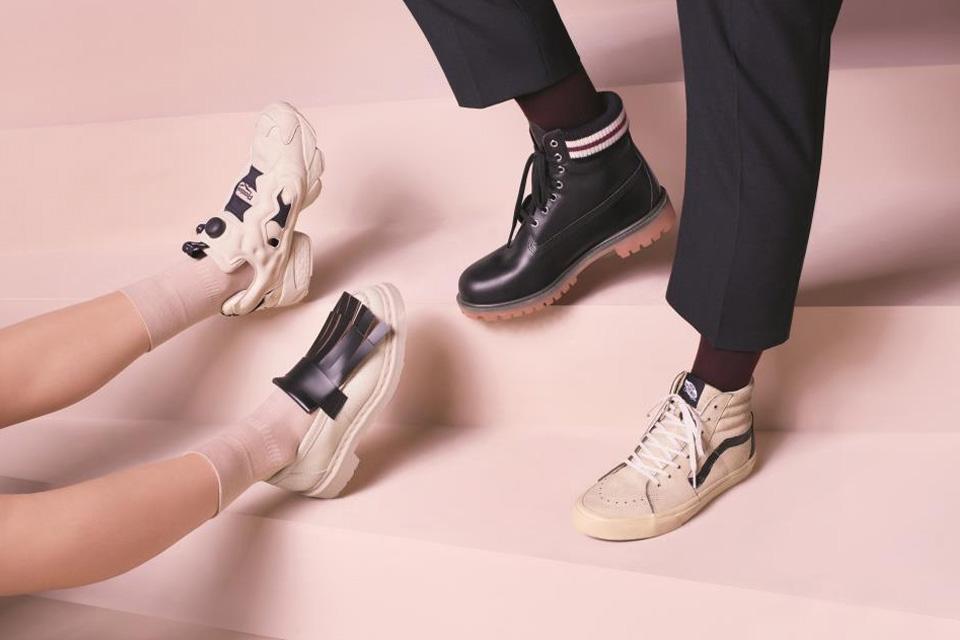 Zalando et Marni revisitent quatre classiques de la chaussure