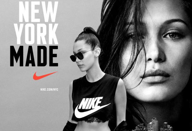 Bella Hadid : nouvelle égérie de Nike